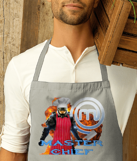 Not Masterchef, Master Chief: When Cooking Meets Halo Printed Apron